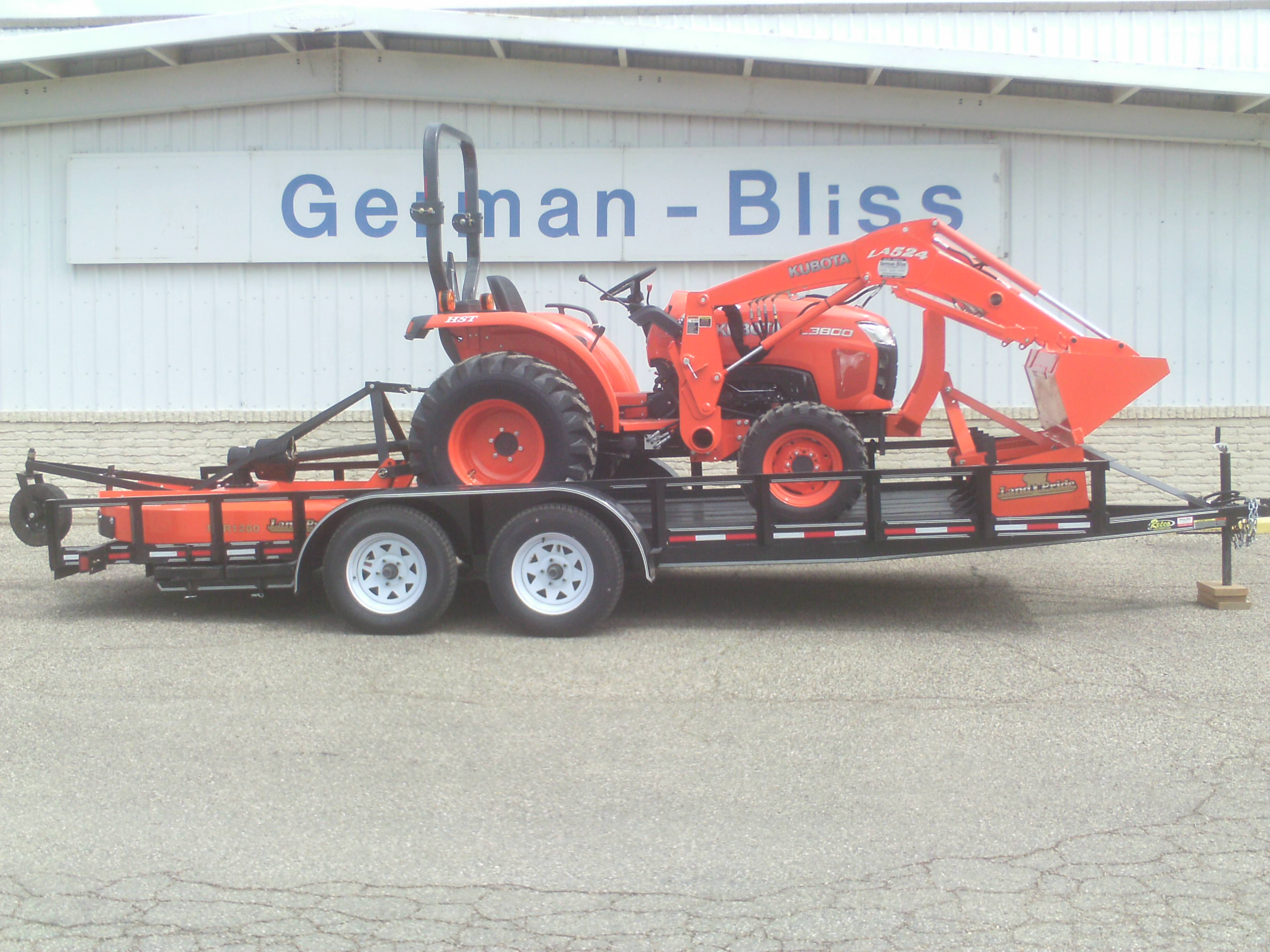 Tractor Trailer Driveline : B series kubota package deals from german bliss equipment