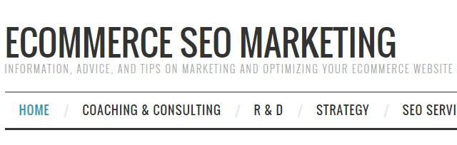 Ecommerce SEO Marketing