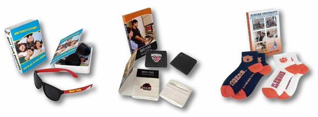 college student recruiting giveaways and gift ideas